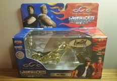 2004 Limited Edition American Chopper Gold Jet Bike Collectible 1/18 Scale in Quantico, Virginia