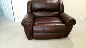 New leather snuggler recliner in Fort Riley, Kansas