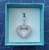 Heart Pendant - silver in Yorkville, Illinois