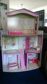 Large doll house in Fort Lewis, Washington