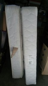 Queen size mattress and box spring with frame in Tacoma, Washington