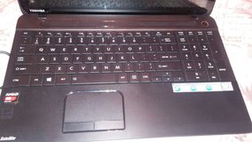 Toshiba touchscreen laptop (almost new) in Lawton, Oklahoma
