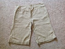 Woman's Linen Shorts in Camp Lejeune, North Carolina