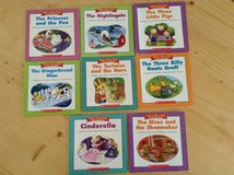 Scholastic folk and fairy tale easy reader books in Beaufort, South Carolina