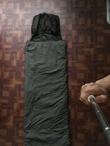 Sleeping bag in Camp Lejeune, North Carolina