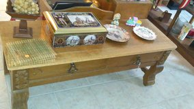 old coffee table in Fort Leonard Wood, Missouri