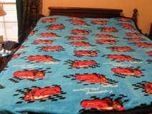Handmade Microfleece Steve McQueen Blanket in Fort Bragg, North Carolina
