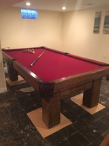 8' Brunswick Pool Table in Glendale Heights, Illinois