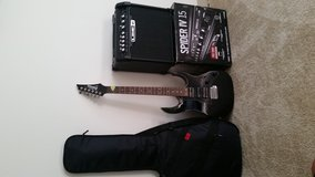 Gio ibanez guitar and amp combo in Fort Lewis, Washington