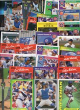 100 Card Lot of Chicago Cubs - 100 Different Players - No Duplicates in Oswego, Illinois