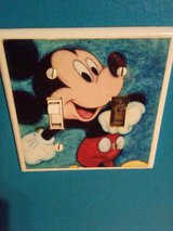 Mickey Mouse Light Switch Cover in Lockport, Illinois