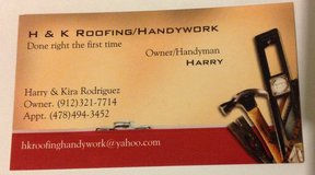 H & K Roofing / Handy work (Licensed in Georgia) in Hinesville, Georgia