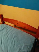 Twin bed frame with headboard and footboard in Lockport, Illinois