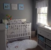 White baby crib in Conroe, Texas