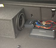 Sound System for Car in Ramstein, Germany