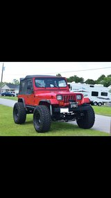 Jeep Wrangler in Camp Lejeune, North Carolina