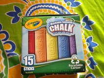 New Crayola Sidewalk Chalk (15) in Ramstein, Germany