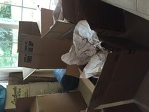 Moving boxes all sizes with wrapping paper in Fort Belvoir, Virginia