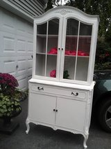 shabby chic french china cabinet in Naperville, Illinois