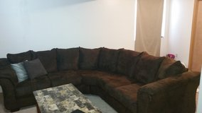 5 seater brown sectional in Colorado Springs, Colorado