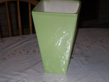 light green ceramic vase in Naperville, Illinois