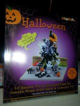 "NEW!! ""FOAMIES"" Halloween 3-D Haunted Tree & Graveyard Kit in Bartlett, Illinois"