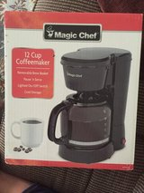 BNIB Magic chef coffmaket black in Bolingbrook, Illinois