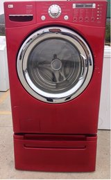 LG TROM Frontload Washer with Pedestal in Camp Pendleton, California