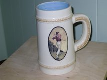 Russ-Berrie golfer beer stein in Chicago, Illinois