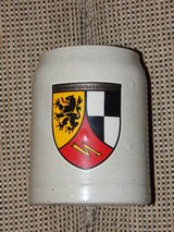 Vintage German Communications Battalion Stein in Stuttgart, GE