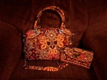 vera bradley purse and matching wallet set in Ottumwa, Iowa