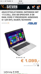 Asus laptop~~~ mostly used for schoolwork~~selling ?this to get a smaler one~~ in very good cond... in Minneapolis, Minnesota