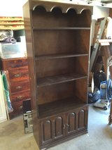 vintage bookshelf in Camp Pendleton, California