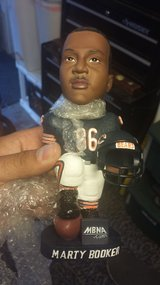 Marty Booker bobble head in Bartlett, Illinois