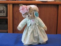 """Bearington Bears Limited Collections. 14""""H Ansley w/doll stand. Retired! New in Beaufort, South Carolina"""