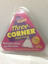 Three Corner Flash Cards Multiplication / Division in Houston, Texas
