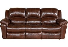 Leather Reclining Sofa in St. Charles, Illinois