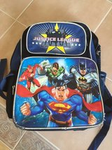 Reduced! Justice League Backpack in Aurora, Illinois