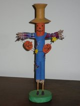 scarecrow taper candle holder in Glendale Heights, Illinois