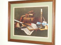 """music and literature"" print-william m. harnett in Naperville, Illinois"