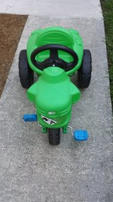 green tractor in Beaufort, South Carolina