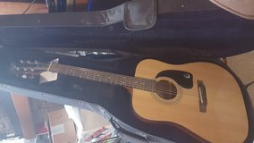 Acoustic guitar in Fort Irwin, California