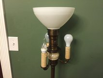 Vintage 4 Light Mogul Torchiere Candelabra Floor Lamp in Cochran, Georgia