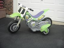Power Wheels Kawasaki Dirt Bike in Algonquin, Illinois