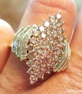2.25 Carat Champagne and White Diamond Ring  NEW!! GORGEOUS!! in Duncan, Oklahoma