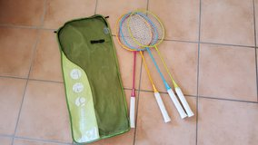LAST DAY!!Badminton raquets and bag in Ramstein, Germany