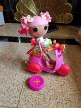 Lalaloopsie remote control motorcycle & doll in Naperville, Illinois