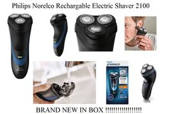 NEW Philips Norelco Rechargable Electric Shaver 2100 in Fort Rucker, Alabama