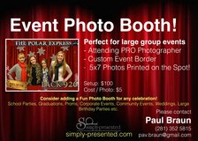 Event Portrait Booth in Kingwood, Texas