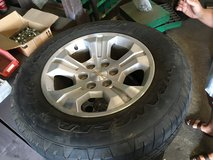 18 in Chevy wheels w/ Goodyear tires in The Woodlands, Texas